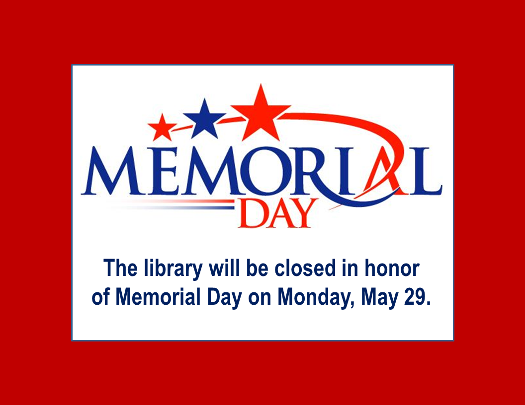 Closed Memorial Day